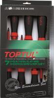 Набор однотипного инструмента Toptul GAAE0704 (7 предметов) -