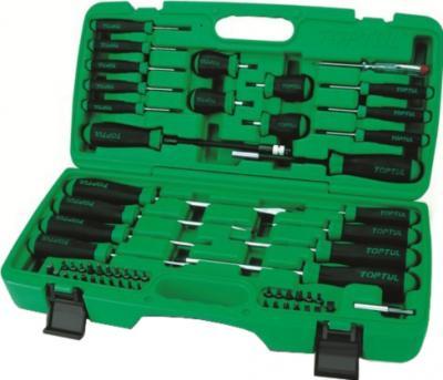Универсальный набор инструментов Toptul GAAI5801 (58 предметов) - общий вид