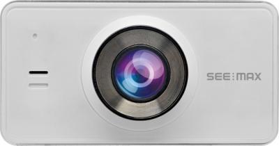 Автомобильный видеорегистратор SeeMax DVR RG520 (White) - фронтальный вид