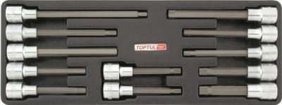 Набор оснастки Toptul GAAT1202 (12 предметов) - общий вид