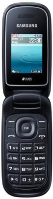 Мобильный телефон Samsung E1272 (черный) - общий вид