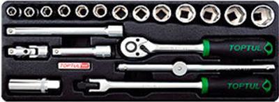 Универсальный набор инструментов Toptul GCAT2001 (20 предметов) - общий вид