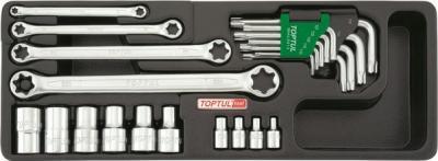 Универсальный набор инструментов Toptul GAAT2302 (23 предмета) - общий вид