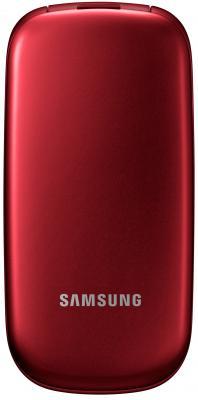 Мобильный телефон Samsung E1272 (красный) - вид в закрытом состоянии