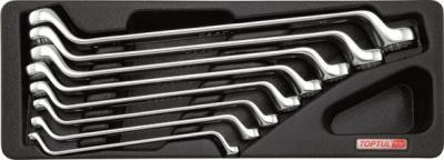 Набор однотипного инструмента Toptul GAAT0802 (8 предметов) - общий вид