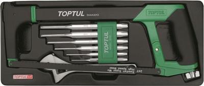 Универсальный набор инструментов Toptul GCAT0801 (8 предметов) - общий вид