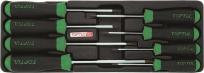 Набор однотипного инструмента Toptul GAAT0807 (8 предметов) - общий вид
