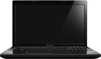 Ноутбук Lenovo IdeaPad G580AH (59371646) - фронтальный вид