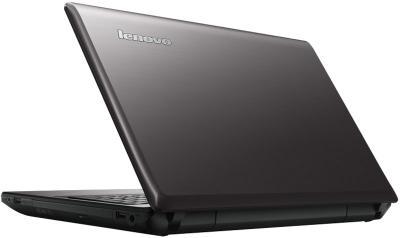 Ноутбук Lenovo IdeaPad G580AH (59371646) - вид сзади