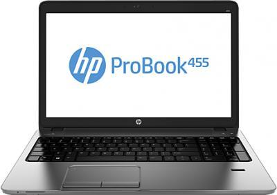 Ноутбук HP ProBook 455 G1 (H6E36EA) - фронтальный вид