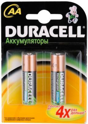 Аккумуляторы AA Duracell HR6 (2шт, 2450mAh) - общий вид