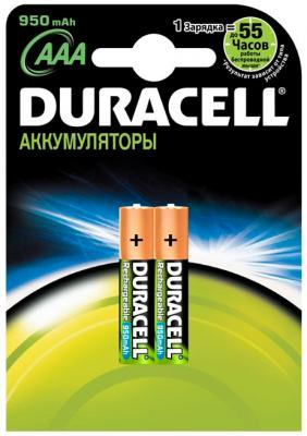 Аккумуляторы AAA Duracell HR03 (2шт, 950mAh) - общий вид