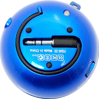 Мультимедиа акустика Divoom iTour-20 (Blue) - вид снизу