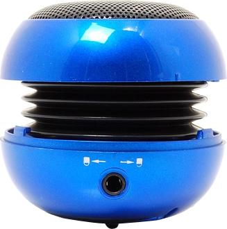 Мультимедиа акустика Divoom iTour-20 (Blue) - общий вид (открытый)