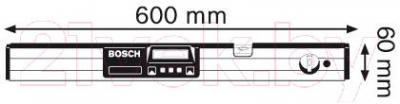 Уровень строительный Bosch DNM 60L (0.601.014.000) - схема