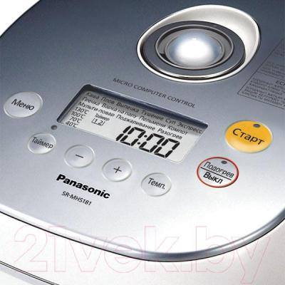 Мультиварка Panasonic SR-MHS181WTQ - управление
