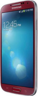 Смартфон Samsung Galaxy S4 16Gb / I9500 (красный) - боковая панель