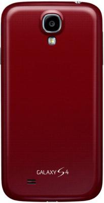 Смартфон Samsung Galaxy S4 16Gb / I9500 (красный) - задняя панель
