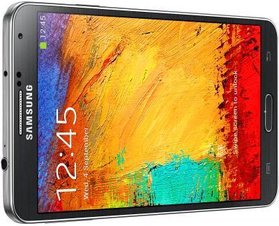 Смартфон Samsung N9000 Galaxy Note 3 (Black) - общий вид