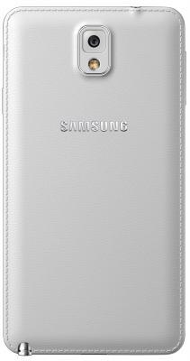 Смартфон Samsung N9000 Galaxy Note 3 (White) - задняя панель