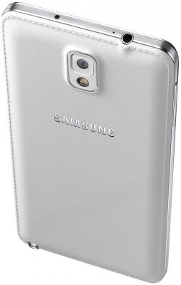 Смартфон Samsung N9000 Galaxy Note 3 (White) - задняя и верхняя панели