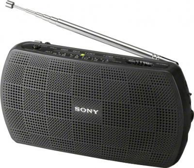 Радиоприемник Sony SRF-18 (черный) - общий вид