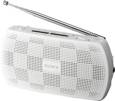 Радиоприемник Sony SRF-18 (белый) - общий вид