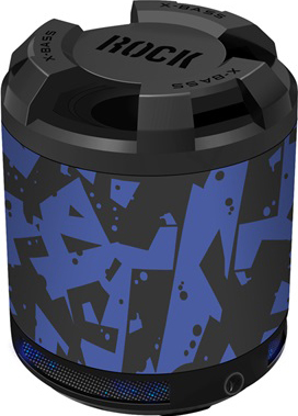 Мультимедиа акустика Divoom iTour-Rock (Blue) - общий вид