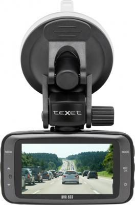 Автомобильный видеорегистратор TeXet DVR-533 - вид сзади