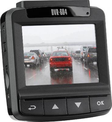 Автомобильный видеорегистратор TeXet DVR-604 (Black) - дисплей