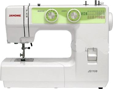 Швейная машина Janome JS-1108 - общий вид