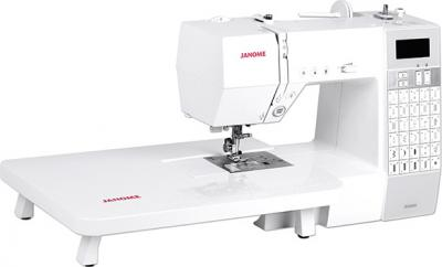 Швейная машина Janome DC 6030 - общий вид с приставным столиком