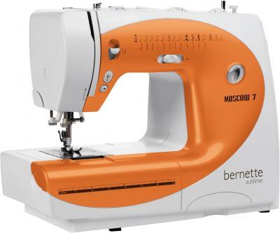 Швейная машина Bernina Bernette Moscow 7 - общий вид