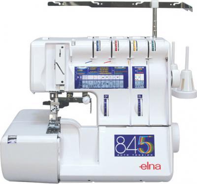 Коверлок Elna 845 - общий вид