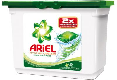 Гель для стирки Ariel Горный Родник (Автомат, 16Х35г) - общий вид