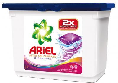 Гель для стирки Ariel Color&Style (Автомат, 16Х35г) - общий вид
