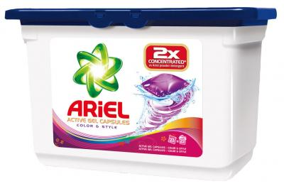 Гель для стирки Ariel Color&Style (Автомат, 23Х35г) - общий вид