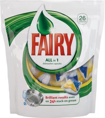 Капсулы для посудомоечных машин Fairy All-in-1 (26шт) - общий вид