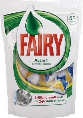 Капсулы для посудомоечных машин Fairy All-in-1 (52шт) - общий вид