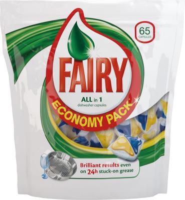 Капсулы для посудомоечных машин Fairy All-in-1 (65шт) - общий вид