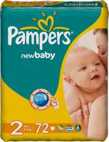 Подгузники Pampers New Baby 2 Mini Value Pack (72шт) -