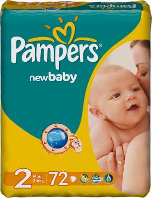 Подгузники Pampers New Baby 2 Mini Value Pack (72шт) - общий вид