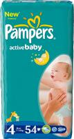 Подгузники Pampers Active Baby 4 Maxi Value Pack (54шт) -