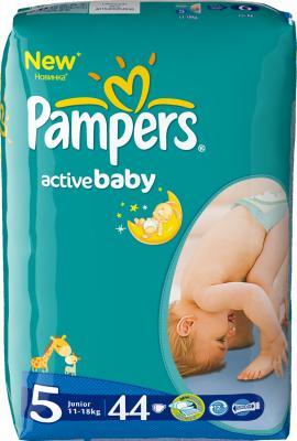 Подгузники Pampers Active Baby 5 Junior Value Pack (44шт, 11-25 кг) - общий вид