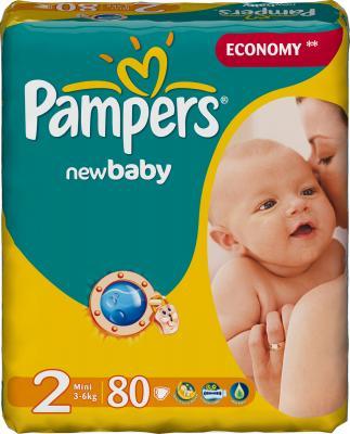 Подгузники Pampers New Baby 2 Mini Value Pack (80шт) - общий вид