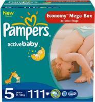 Подгузники Pampers Active Baby 5 Junior Mega Pack (111шт) -