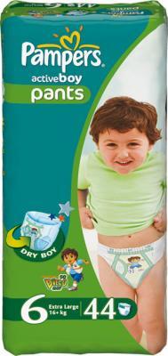 Подгузники-трусики Pampers Active Boy 6 Extra Large (44шт) - общий вид
