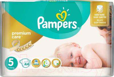 Подгузники Pampers Premium Care 5 Junior Value Pack (44шт)
