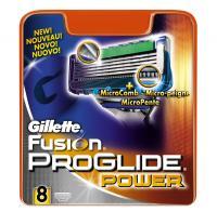 Сменные кассеты Gillette Fusion ProGlide Power (8шт) -