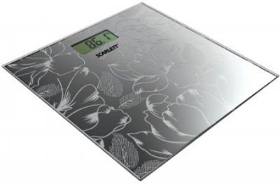 Напольные весы электронные Scarlett SC-217 (графит) - общий вид